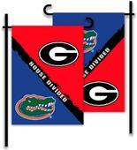 COLLEGIATE Georgia - Florida House Divided Flag