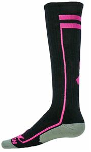 Red Lion Cancer Awareness Ribbon Excel Socks