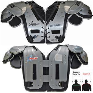 e3183382e Douglas Pads Football DP 25 Shoulder Pads - Football Equipment and Gear