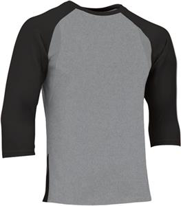 Champro Extra Innings 3/4 Sleeve Baseball Shirt. Decorated in seven days or less.