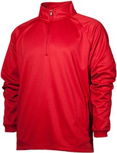Baw Adult/Youth Quarter Zip Sweatshirt/Pullover. Decorated in seven days or less.