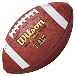 Wilson Tds Traditional Leather Game Footballs Football