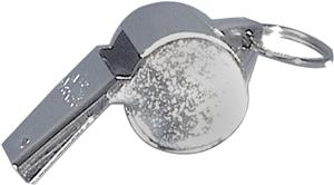 SafeTGard Chrome Sonic Whistle