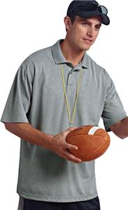 Paragon Adult Solid Mesh Polo Shirts