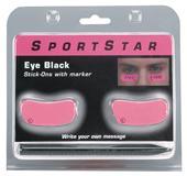 Eye Black Pink Stick-Ons