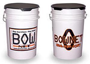 Bow Net 6 Gallon Baseball Bucket
