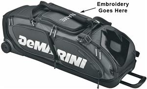 Demarini Black Ops Wheeled Custom Baseball Bag Baseball