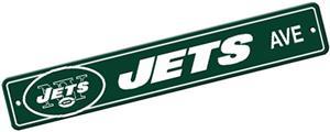 BSI NFL New York Jets Plastic Street Sign