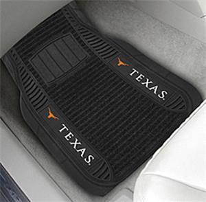Fan Mats University of Texas Deluxe Car Mats (set)