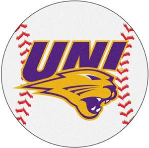 Fan Mats University of Northern Iowa Baseball Mat