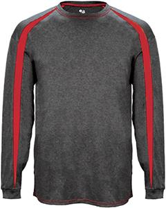 Badger Sport Long Sleeve Fusion Tee Shirt