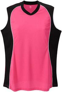 Martin Sports Womens Sleeveless V-Neck Jersey