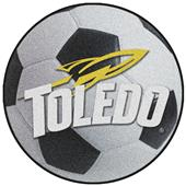 Fan Mats University of Toledo Soccer Ball Mat