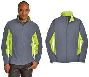 5156426d372b Port Authority Core Colorblock Soft Shell Jacket - Soccer Equipment and Gear