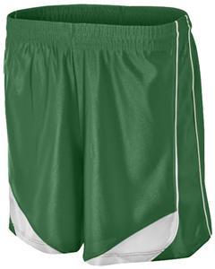 "Womens 5"" Inseam Paneled w/Drawstring Softball Shorts - CO"