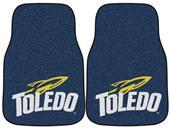 Fan Mats Univ of Toledo Carpet Car Mats (set)
