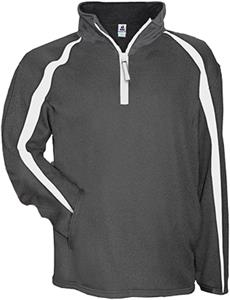 Badger Sport Polyester Fusion Quarter Zip Pullover. Decorated in seven days or less.