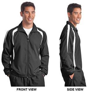 Sport-Tek Mens Tall Colorblock Raglan Jacket