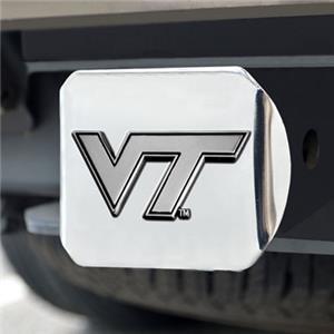 Fan Mats Virginia Tech Chrome Hitch Cover