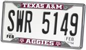 Fan Mats Texas A&M University License Plate Frame