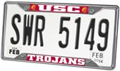 Univ. of Southern California License Plate Frame