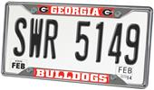 Fan Mats University of Georgia License Plate Frame