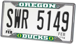 Fan Mats University of Oregon License Plate Frame