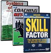 Tactical Soccer Training Videos 3 DVD Set