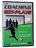 Coaching Set Plays Soccer Training Video 2 DVDs