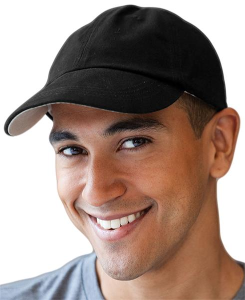 Anvil Solid Low-Profile Brushed Twill 6-Panel Caps  f013f85f108