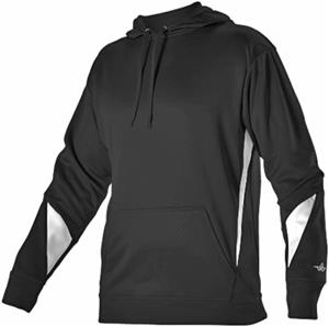 Youth-Large Long Sleeve Fleece Hoodie w/Front Pouch Pocket CO