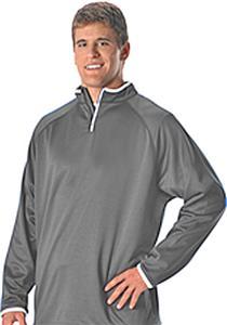 Alleson Adult & Youth Long Sleeve Gameday 1/4 Zip Fleece Jackets