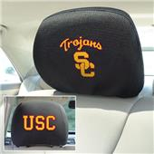 Fan Mats USC Trojans Head Rest Covers