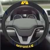 Fan Mats University Michigan Steering Wheel Covers