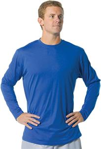 A4 Fusion Cotton Long Sleeve Crew T-Shirts CO