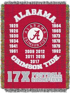 Northwest NCAA Alabama Crimson Tide Champs Throws