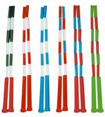 Plastic Segmented Jump Ropes - Braided Nylon