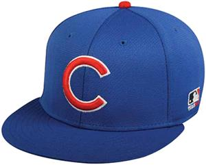 OC Sports MLB Chicago Cubs Mesh Home Cap 3D Logo - Baseball ... 3cee3920cae