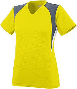 Augusta Sports Girls Mystic Jersey Pack of 3