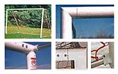 Round Aluminum Soccer Goals 4.5x9x2x4.5  (EA)