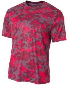 A4 Adult/Youth Camo Performance T-Shirts. Printing is available for this item.