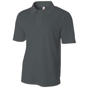 A4 Adult Textured Polo Shirts