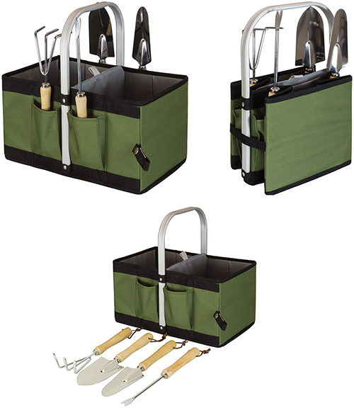 Picnic Time Collapsible Garden Caddy Epic Sports