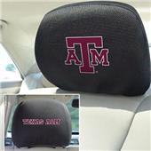 Fan Mats Texas A&M University Head Rest Covers