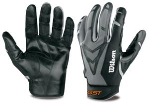 18e6287e997 Wilson GST Skill Glove TackTech Football Gloves - Football Equipment ...