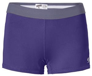 "Soffe Dri Juniors Girls Compression Shorts 2.5"" Inseam"