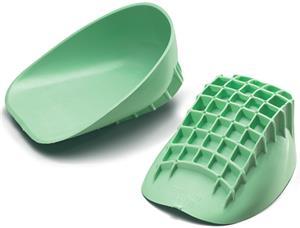 Mueller Pro Heel Cup Green Pair