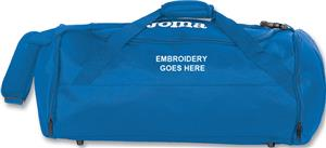 Joma Travel/Equipment Duffel Bag. Embroidery is available on this item.