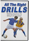 Soccer Learning Systems All the Right Drills DVD