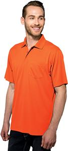 Tri Mountain Men's Vital Pocket Short Sleeve Polo